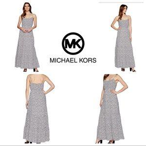MICHAEL Michael Kors Sleeveless Tiered Maxi Dress